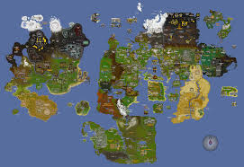 combination of map improvements from osrs reddit community 2007scape
