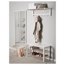 Ikea Hallway Table Tjusig Bench With Shoe Storage White 81x50 Cm Ikea