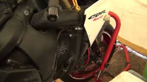 how to change coolant on 03 06 honda cbr 600rr youtube