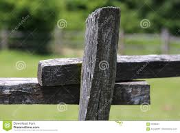 old wooden rural corral fense in meadow stock photo image 93298447