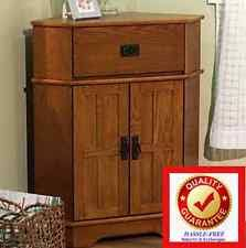 Corner Storage Cabinet Solid Wood Cabinets And Cupboards Ebay