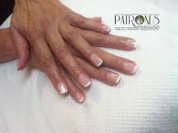 shoshana gel overlay with shellac french manicure u2013 jackson mi spa