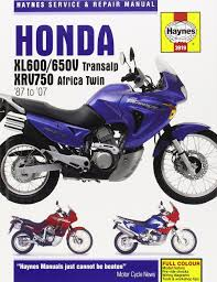 honda xl600 650v transalp and xrv750 africa twin service and