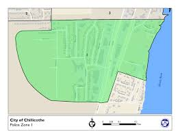 Chillicothe Ohio Map by Ordinance Zones U2013 Chillicothe Police Department