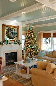House And Home Christmas Decorating by Coastal Christmas House Of Turquoise Coastal Christmas