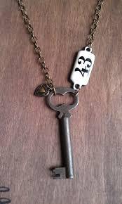 antique key necklace images 110 best vintage key jewelry images old keys jpg