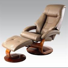 Recliner Massage Chairs Leather Furniture Tuscany Real Leather Black Swivel Recliner Massage With