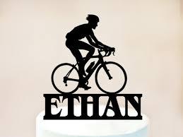 bike cake toppermountain biking cake topperbicycle cake