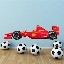 Cars Wall Mural by Bedroom Popular Items For Car Wall Art On Etsy Formula 1 F1 Race