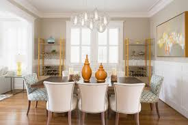 Transitional Dining Rooms Architrave For A Transitional Dining Room With A Pendant Lighting