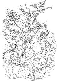 printable coloring pages u003e winx club harmonix u003e 43460 winx club