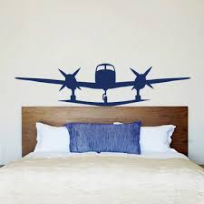 Plane Themed Bedroom by Wall Decals Airplane Air Plane Living Room Vinyl Sticker Bedroom