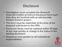 vcom conflict of interest policy overview of financial conflict of