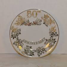 50th anniversary plate shop golden anniversary gifts on wanelo
