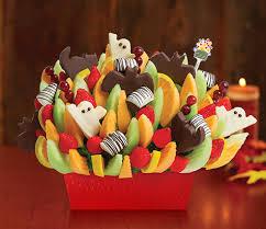 edible fruit centerpieces finally fall edible arrangements autumn collections