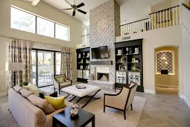 Ideas Family Room With Corner Gas Fireplace Large Picture Windows - Family room accessories