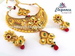 indian bridal jewelry necklace images South indian bridal jewellery one gram gold plated bridal jpg