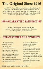 top office promo et catalogue the vermont country store general store products
