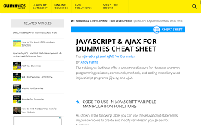 javascript cheat sheet the best of the best devdojo