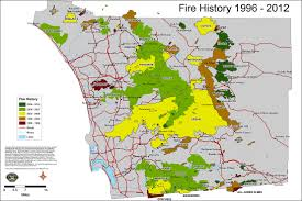 San Diego City Map by San Diego Fire Maps Cbs News 8 San Diego Ca News Station