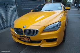 atacama yellow bmw 6 series convertible photo gallery autoblog