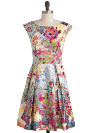 fantastical flora dress modcloth my style pinterest flora