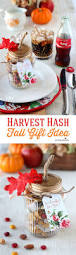 thanksgiving mix personalized place setting u0026 harvest hash trail mix recipe