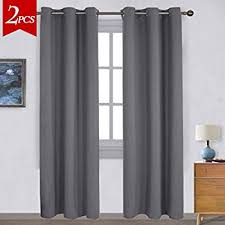 Curtains Ring Top Nicetown Three Pass Microfiber Noise Reducing Thermal