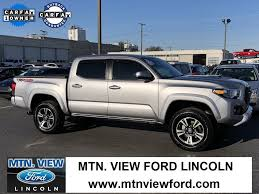 toyota tacoma silver used 2017 toyota tacoma for sale chattanooga tn 3tmcz5an9hm058966