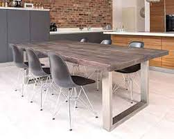 tavoli moderni legno mobili di legno e acciaio dallo stile moderno mac wood