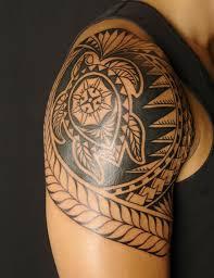 hawaiian turtle tattoo shoulder maori turtle tattoos meaning
