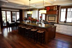 Kitchen Island With Bar Top Allow Extra Room For Dining With A Large Kitchen Islands With