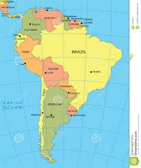 Map Of South America With Capitals Columbia South America Map Roundtripticket Me Inside Grahamdennis Me