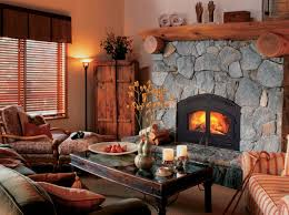 Stone Fireplace Mantel Shelf Designs by Classic Fireplace Design With Stone Surround And Black Metal Trim