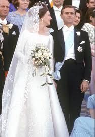 1967 wedding day of princess margrethe and consort prince henrik