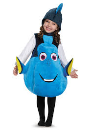 Monster Halloween Costume Toddler Child Deluxe Dory Costume
