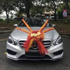 How To Decorate A Wedding Car With Flowers Wedding Items For Sale In Malaysia Mudah My