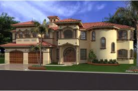 49 mediterranean luxury spanish style home house plan 71501 at