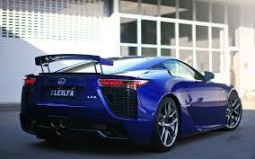 lexus lfa kaufen lexus lfa hinten blau