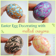 Easter Egg Decorating Directions by Creating Colorful Easter Eggs With Melted Crayons Jenna Burger