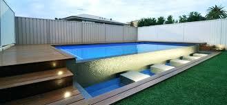 above ground lap pool decofurnish above ground lap pools dop designs