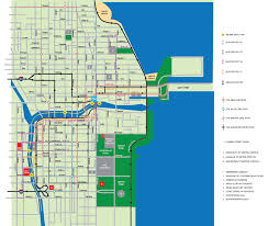 Metra Train Map Chicago by Transportation The Wrigley Building Chicago Illinois