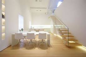 apartment ideas loft apartment white finishing wall ultramodern