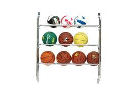 Ball Organizer Garage - amazon com champion sports wall storage ball rack sports u0026 outdoors