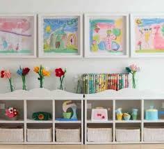 jeux de rangement de chambre de fille rangement salle de jeux enfant 50 idées astucieuses rangement