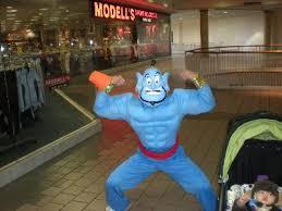 Alladin Halloween Costume Aladdin Disney Genie Muscle Costume Buycostumes