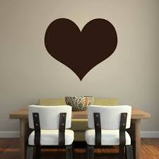 valentines home decorations heart shape wall art vinyl decal for love valentines day and