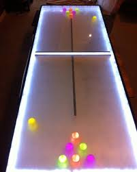 build a beer pong table news light up your next party with this diy led beer pong table
