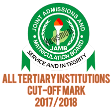 all tertiary institutions in nigeria cut off mark 2017