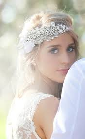 bridal headpiece picture of awesome boho chic bridal headpieces